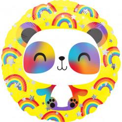 Balão Foil Redondo Panda 43cm