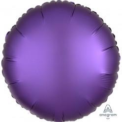 Balão Foil Redondo Púrpura Royal Acetinado 43cm