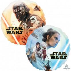 Balão Foil Redondo Star Wars Episódio 9 43cm