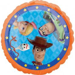 Balão Foil Redondo Toy Story 43cm