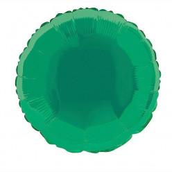 Balão Foil Redondo Verde 46cm