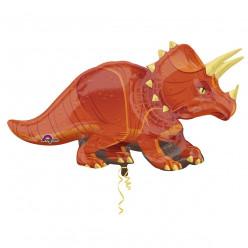 Balão Foil Super Shape Dinossauro Triceratops