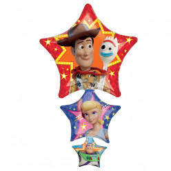 Balão Foil Super Shape Toy Story 106cm