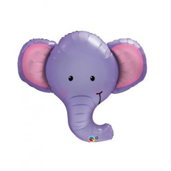Balão Foil SuperShape Cabeça Elefante 99cm