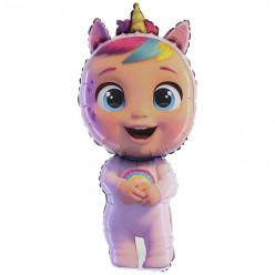 Balão Foil Supershape Cry Babies Dreamy 102cm