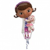 Balão Foil SuperShape Doutora Brinquedos 88cm