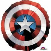 Balão foil SuperShape Escudo Capitão América