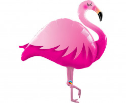 Balão Foil SuperShape Flamingo 117cm