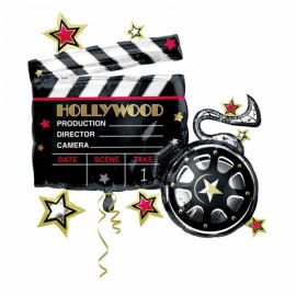 Balão Foil Supershape Hollywood Clapboard 30""