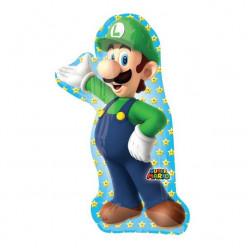 Balão Foil Supershape Luigi Super Mario