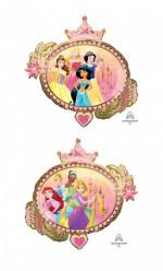 Balão Foil Supershape Princesas 86cm