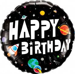 Balão Happy Birthday Astronauta