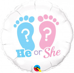 Balão He or She?
