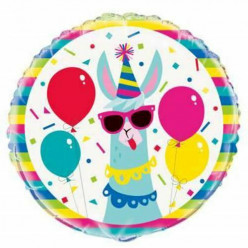 Balão Lama Birthday 46cm