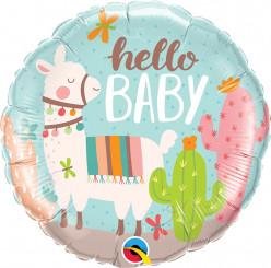 Balão Lama Hello Baby