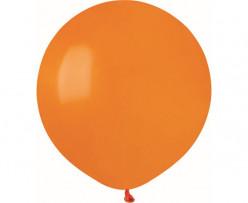 """Balão Laranja 19"""" (48cm)"""