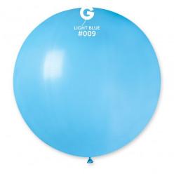 Balão Látex Azul Claro 80cm