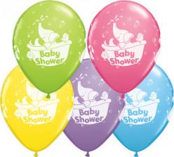 """Balão Latex Baby Shower Elefante 11"""" Sortido"""