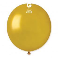 Balão Látex Dourado 48cm