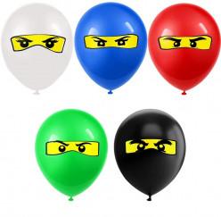 Balão Latex Lego Ninjago Sortido