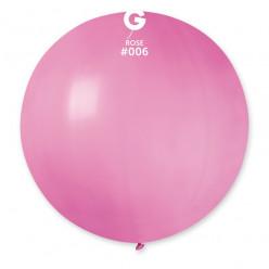 Balão Látex Rosa 80cm