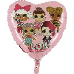 Balão LOL Surprise Pink