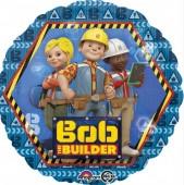 Balão metálico Bob o Construtor