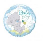 Balão metálico Ursinho - Baby Boy