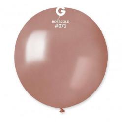 """Balão Metalizado Rose Gold 19"""" (48cm)"""