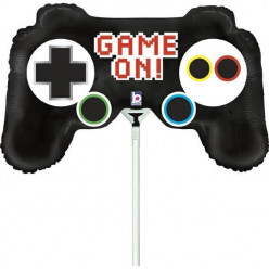 "Balão Mini Comando Consola Game On 14"""