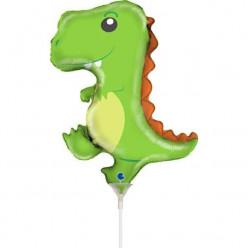 """Balão Mini Dinossauro 14"""""""