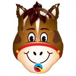 Balão Mini Shape Cabeça Cavalo