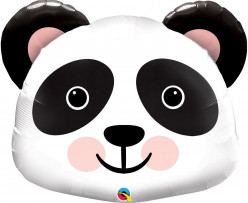Balão Mini Shape Cabeça Panda 14