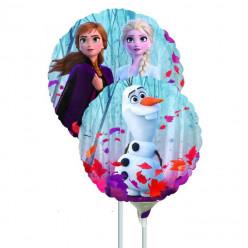 Balão Mini Shape Redondo Frozen 2