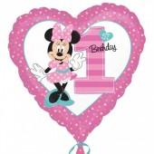 Balão Minnie Coração Nº1