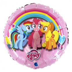 Balão My Little Pony Redondo 45cm