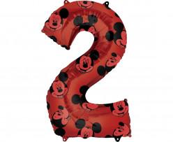 Balão Número 2 Mickey Disney