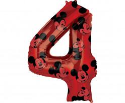 Balão Número 4 Mickey Disney