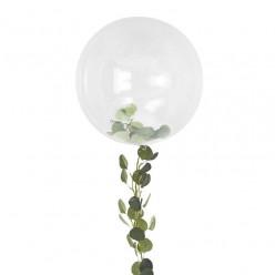 Balão Orb com Folha Videira