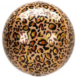 Balão Orbz Animal Leopardo 38cm