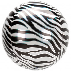 Balão Orbz Animal Zebra 38cm