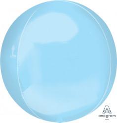 Balão Orbz Azul Pastel