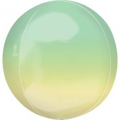 Balão Orbz Green & Yellow