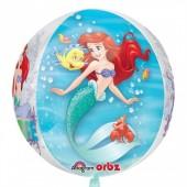 Balão Orbz Pequena Sereia 40cm
