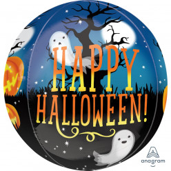 Balão Orbz XL Happy Halloween