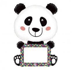 """Balão Panda Personalizável 48"""""""