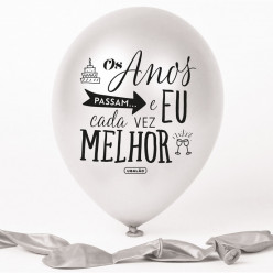 Balão Pérola Os Anos Passam