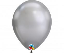 Balão Prateado Chrome 7''