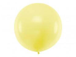 Balão Redondo Amarelo 1m