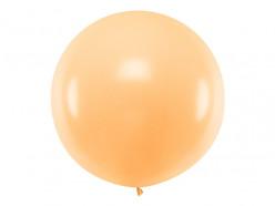 Balão Redondo Cor de Pêssego 1m